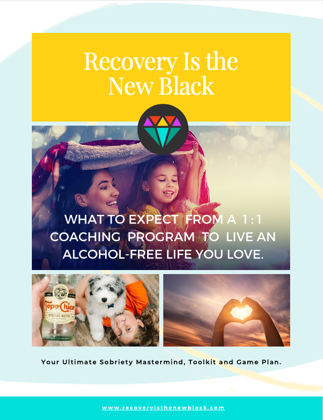 Recovery Is The New Black program offer cover